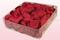 2 Liter Verpakking Met Geconserveerde Rozenblaadjes In De Kleur Kers