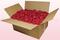Boîte de 24 litres de pétales de roses conservées couleur cerise