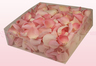 2 litre box with soft pink coloured freeze dried rose petals
