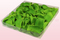 1 Liter Verpakking Met Geconserveerde Rozenblaadjes In De Kleur Lichtgroen