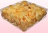 Confezione da 2 litri con petali di rosa liofilizzati di colore salmone.
