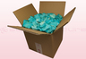 8 litre box with turquoise coloured preserved rose petals