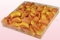 1 litre box with golden yellow freeze dried rose petals
