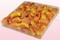 Confezione da 1 litro con petali di rosa liofilizzati di colore giallo oro