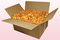 24 litre box with golden yellow freeze dried rose petals