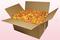 Confezione da 24 litri con petali di rosa liofilizzati di colore giallo oro