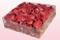 Confezione da 2 litri con petali di rosa liofilizzati di colore corallo