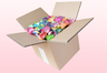 8 Litre Box Rainbow Coloured Freeze Dried Rose Petals