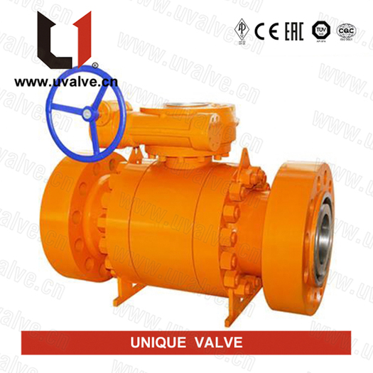 Large_flanged-trunnion-ball-valve