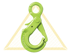 DELTALOCK SELF-LOCKING EYE HOOKS WITH GRIP GRADE 100