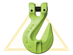 DELTALOCK CLEVIS GRAB HOOKS WITH SAFETY PIN GRADE 100