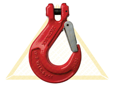DELTALOCK CLEVIS HOOKS WITH CAST LATCH GRADE 80