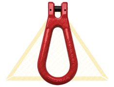 DELTALOCK PEAR SHAPED LINKS WITH  CLEVIS GRADE 80
