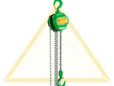 DELTA GREEN MANUAL CHAIN HOISTS