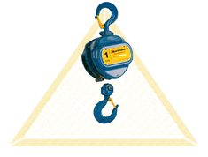 DELTA BLUE MANUAL CHAIN HOISTS WITH OVERLOAD PROTECTION