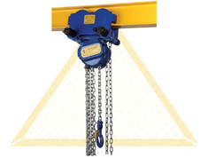 DELTA BLUE MANUAL CHAIN HOISTS WITH GEARED TROLLEY