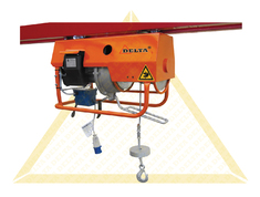 DELTA ELECTRIC WIRE ROPE HOISTS 230 VOLT