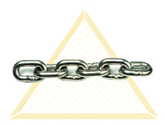 DELTALOCK GALVANIZED HAND CHAINS