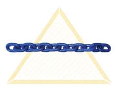 DELTALOCK SHORT LINK LOAD CHAINS GRADE 100