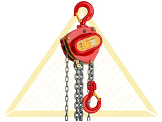 DELTA RED MANUAL CHAIN HOISTS